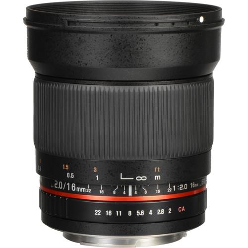 Rokinon 16mm f/2.0 AS UMC CS