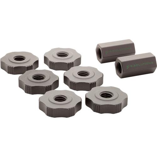 9.SOLUTIONS Mini Rigging Rod Set Nuts