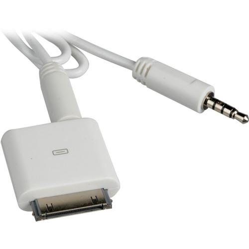 "AAXA Technologies Apple iPod / iPhone AV Cable (18.0"")"