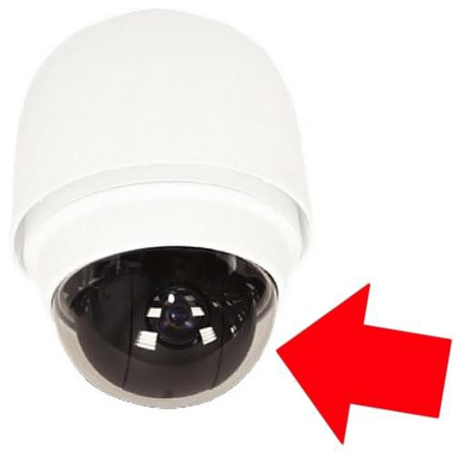 """ACTi 61-PDH700106A1 5.4"""" Transparent Cover for CAM-6500 Speed Dome Camera"""
