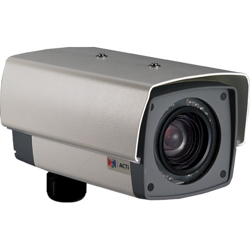 ACTi 35x Zoom 2 MP IP Day/Night H.264 Outdoor Box Camera with ExDR