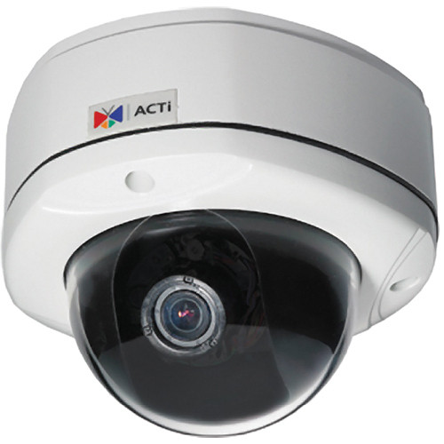 ACTi KCM-7311 4 MP IP Day/Night Vandal-Proof Dome Camera with P-Iris & ExDR