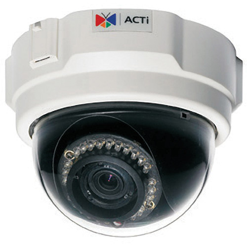 ACTi TCM-3511 H.264 1.3 Megapixel IP PoE Fixed Dome Camera