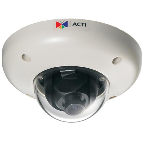 ACTi Megapixel IP Vandal-Proof PoE Indoor Mini Dome Camera