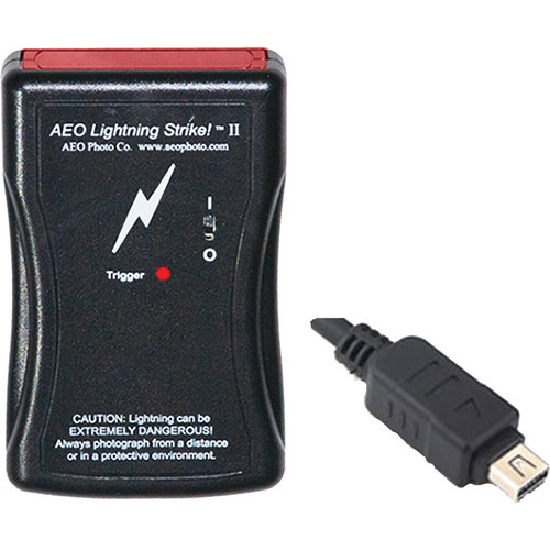 AEO Photo RM-UC1 Lightning Strike II Shutter Release for Select Olympus Cameras