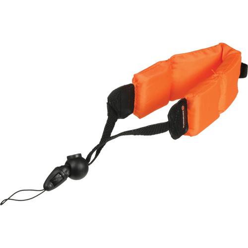 AgfaPhoto Floating Foam Strap For Camera / Binocular (Orange)