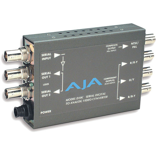 AJA D10C Digital to Analog Video Converter (Decoder)