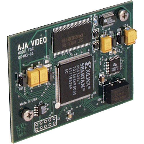 AJA FSG Frame Sync/Genlock Accessory for R Module