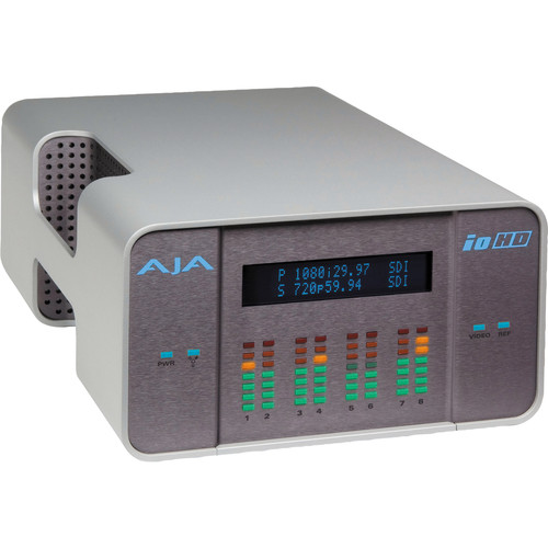AJA IoHD FireWire-800 Analog/Digital Capture Device with Apple ProRes 422