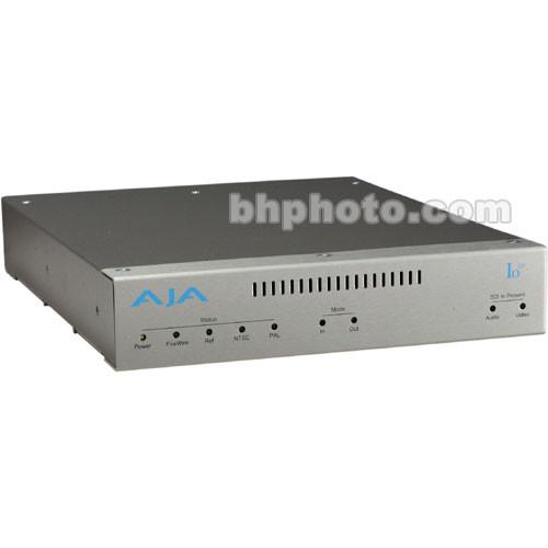 AJA Io LA External Video Capture Device - 10-bit Analog Uncompressed I/O Breakout Box for Apple Final Cut Pro -  Component and Composite Video, 24-bit Multi-Channel Audio