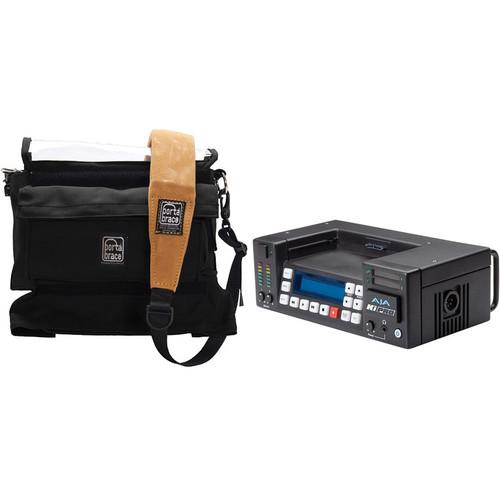 AJA Ki Pro Recorder with Compatible Porta Brace Case Kit
