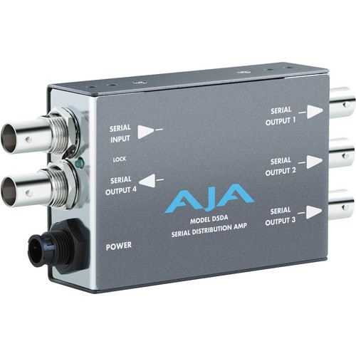AJA D5DA SD-SDI Distribution Amplifier, Multi-format Mini-Converter