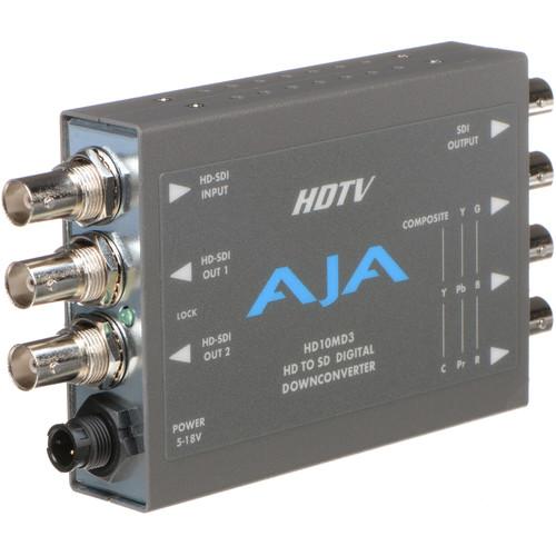 AJA HD10MD3 HD to SD-SDI & Analog Downconverter