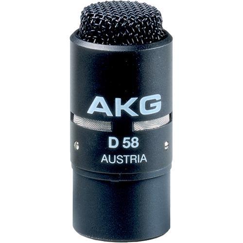 AKG D 58 E Hypercardioid PA Microphone