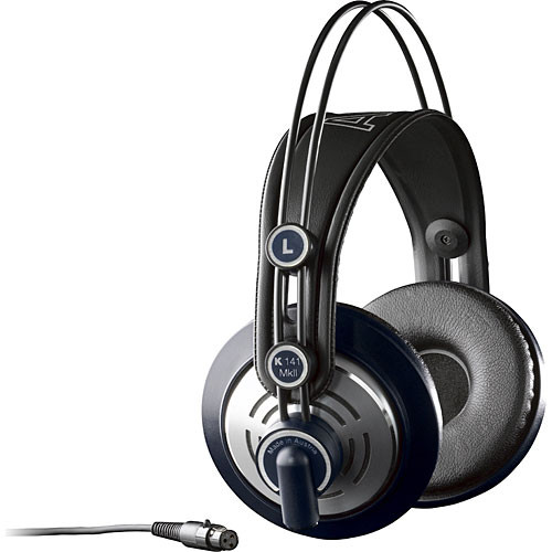 AKG K 141 MK II Professional Semi-Open Supraaural Stereo Headphones