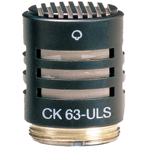 AKG CK63-ULS - Hyper-Cardioid Capsule (Ultra Linear)