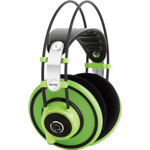 AKG Q701 Quincy Jones Signature On-Ear Reference Headphones (Green)