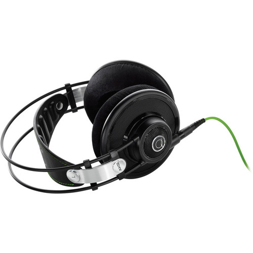 AKG Q701 Quincy Jones Signature On-Ear Reference Headphones (Black)
