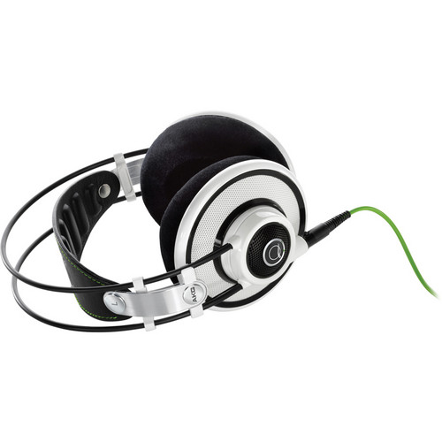 AKG Q701 Quincy Jones Signature On-Ear Reference Headphones (White)