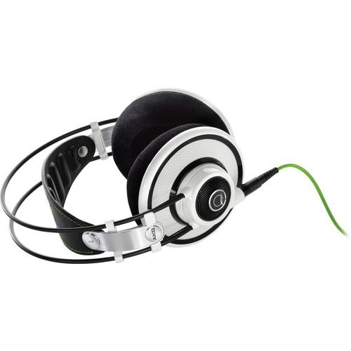 AKG Q701 Quincy Jones Signature On-Ear Reference Headphones (White)