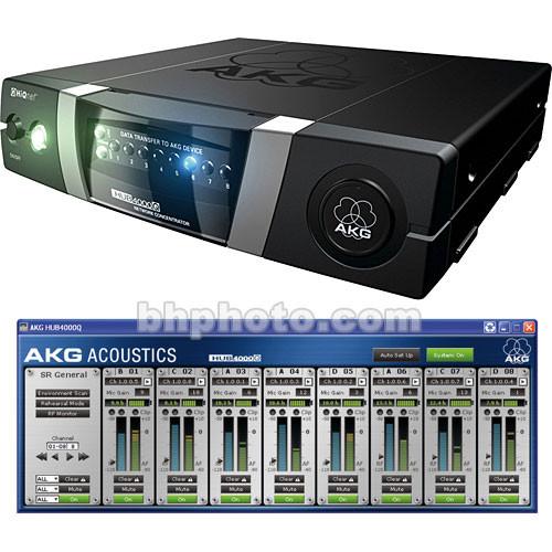 AKG HUB 4000Q HiQNet Compatible Computer Interface