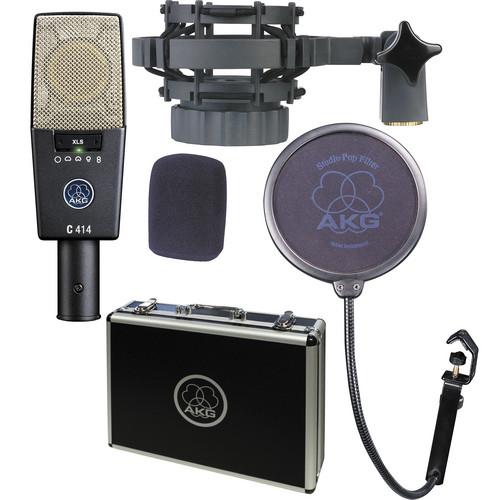 AKG C414 XLS Multi-Pattern Large-Diaphragm Condenser Microphone