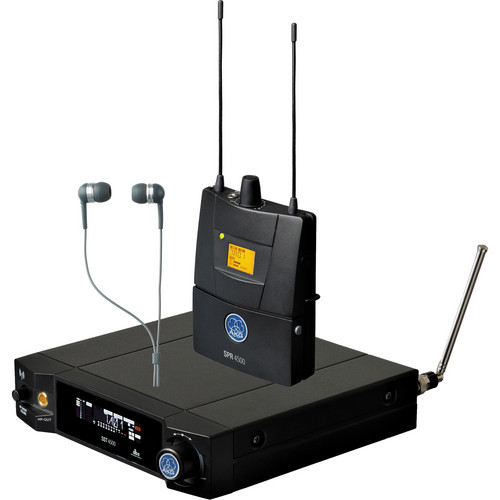 AKG IVM4500 In Ear Monitoring System BD8-100mW