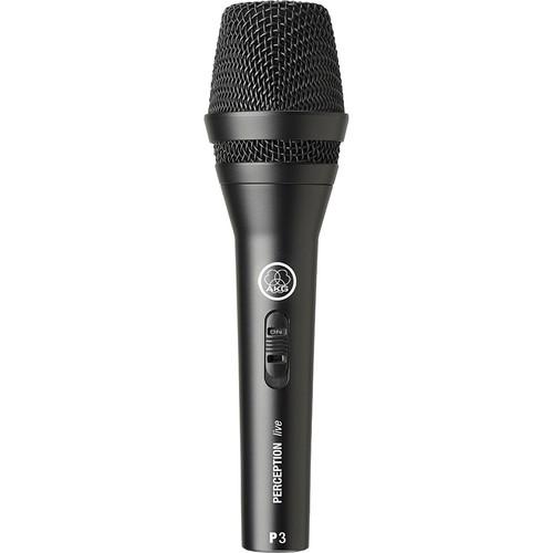 AKG Perception P3 S Handheld Cardioid Dynamic Microphone