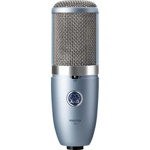 AKG Perception 420 - Large Diaphragm Multi-Pattern Studio Microphone