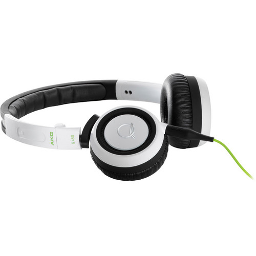 AKG Q460 Mini On-Ear Quincy Jones Signature Stereo Headphones (White)