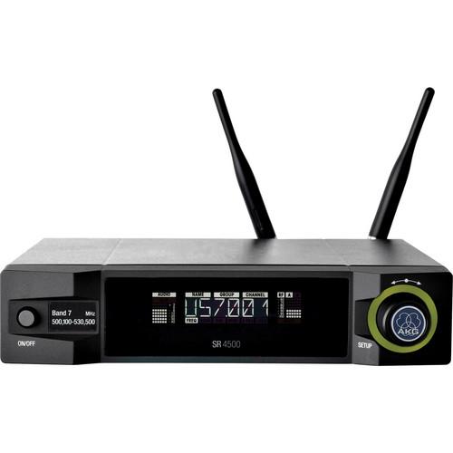 AKG SR 4500 Rack Mount True Diversity UHF Wireless Receiver