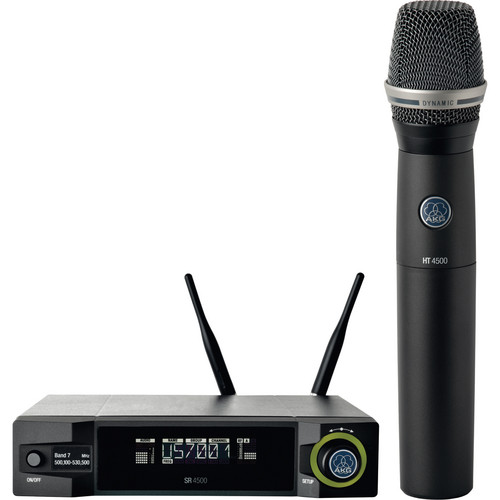AKG WMS4500 D7 Wireless Vocal Microphone Set (Band 1: 650 - 680 MHz)