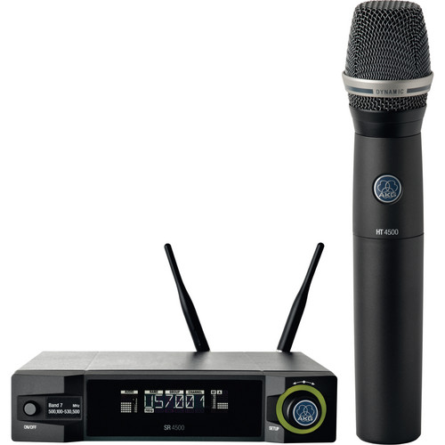 AKG WMS4500 D7 Wireless Vocal Microphone Set (Band 7: 500 - 530 MHz)