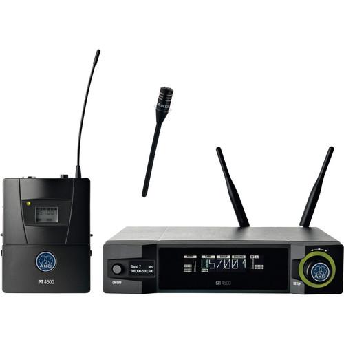 AKG WMS4500 CK77 L Wireless Lavalier Microphone Set (Band 1: 650 - 680 MHz)