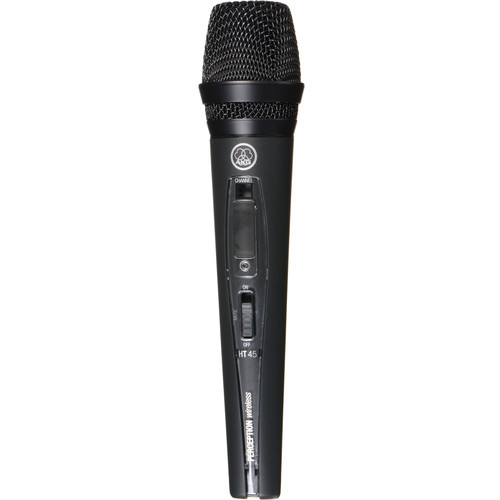 AKG Perception HT 45 Handheld Wireless Microphone Transmitter - Frequency A / 530 - 560 MHz