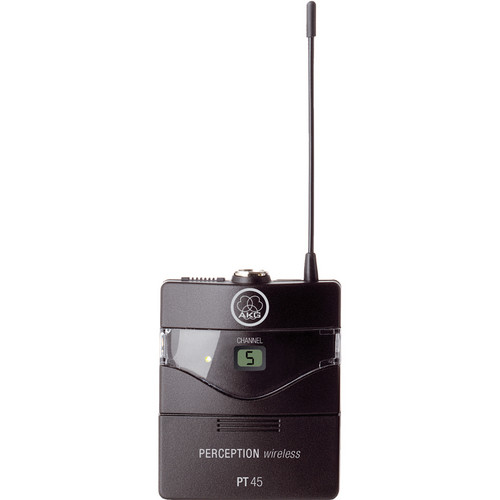 AKG Perception PT 45 Wireless Pocket Transmitter - Frequency A / 530 - 560 MHz