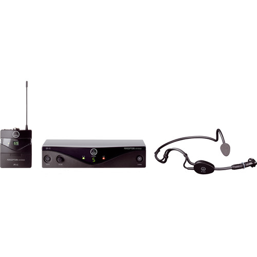 AKG Perception Wireless Sports Set - Frequency U2 / 614 - 634 MHz
