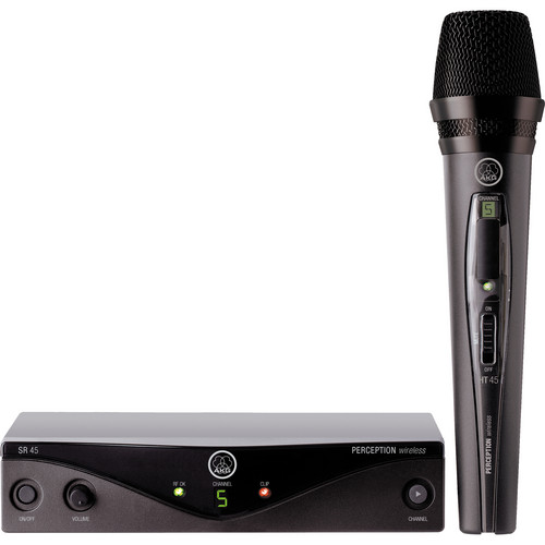 AKG Perception Wireless Vocal Set - Frequency U2 / 614 - 634 MHz