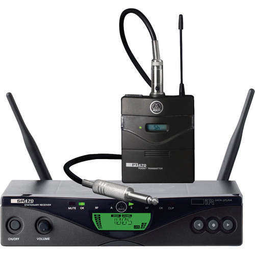 AKG WMS 470 Instrumental Set Wireless Instrument System