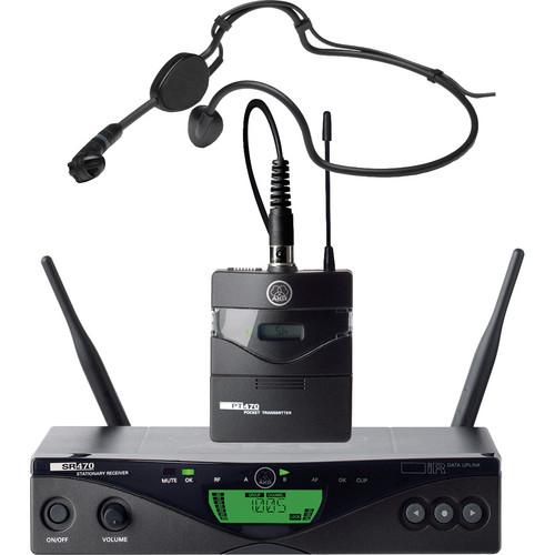 AKG WMS 470 Sports Set Wireless Headworn Microphone System