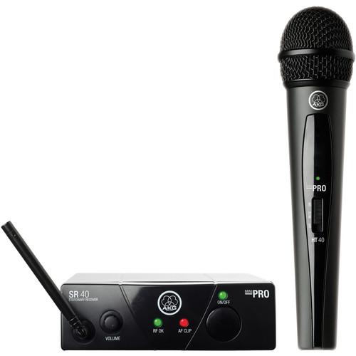 AKG WMS 40 Mini Vocal Set Handheld Wireless Microphone System