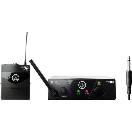 AKG WMS 40 Mini Instrumental Wireless Instrument System