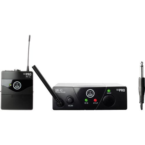 AKG WMS 40 Mini Instrumental Wireless Instrument System