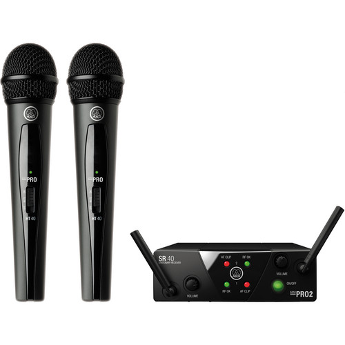AKG WMS 40 Mini2 Vocal Set Dual System