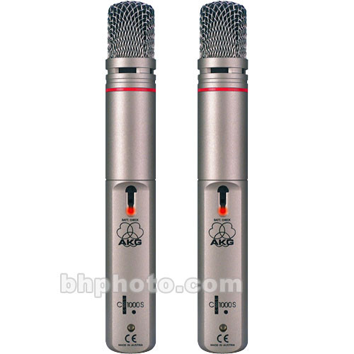 AKG C 1000 S Stereo Twin Pack