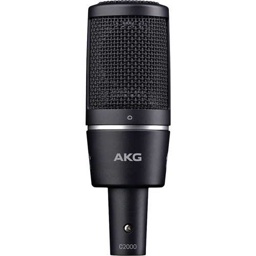 AKG C2000 Cardioid Condenser Microphone with H 85 Shockmount