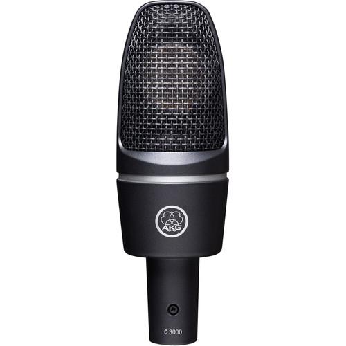AKG C3000 Studio Microphone Twin Pack