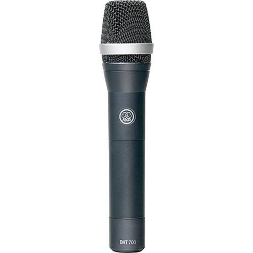 AKG DHT 700 - Digital Wireless Handheld Transmitter with C5 Condenser  Capsule and V2 Firmware
