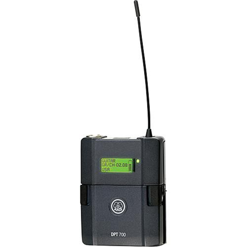 AKG DPT 700 Digital Bodypack Transmitter for DMS 700 Wireless System