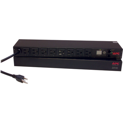 APC Switched 8-Outlet Rack Power Distribution Unit (PDU) - 100/120V, 15A
